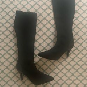 Charles by Charles David black knee high boots